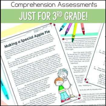 Reading Comprehension Tests 3rd Grade
