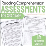 3rd Grade Reading Tests | 3rd Grade Reading Comprehension