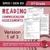 Reading Comprehension Assessments (3rd) Version 1