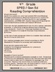 Reading Comprehension Assessments (4th) Version 3