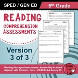 Reading Comprehension Assessments (5th) Version 3