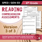 Reading Comprehension Assessments (6th) Version 3