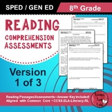 Reading Comprehension Assessments (8th) Version 1