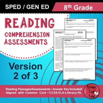 Reading Comprehension Assessments (8th) Version 2