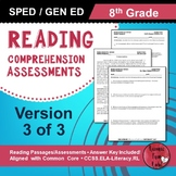 Reading Comprehension Assessments (8th) Version 3