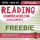 Reading Comprehension Assessments FREEBIE (2nd)