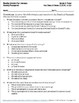 Reading Comprehension Assessments FREEBIE (3rd)