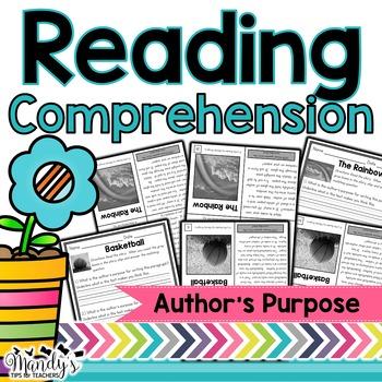 Reading Comprehension: Author's Purpose