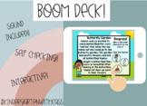 Reading Comprehension - BOOM CARDS!