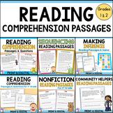 Reading Comprehension Passages & Questions BUNDLE (Distanc
