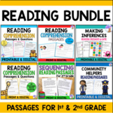 Reading Comprehension Passages & Questions BUNDLE (Distanc