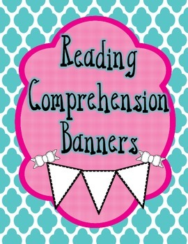 Reading Comprehension Banners