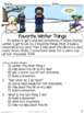 Reading Comprehension Basic Sequencing WINTER STORIES * Special Education