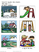 Reading Comprehension Basic Sequencing SPRING STORIES * Special Education