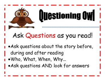 Reading Comprehension Beany Baby Posters-7