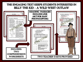 Reading Comprehension - Billy the Kid