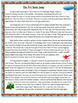 Reading Comprehension Bingo Game - 7 Fictional Reading Passages - Long