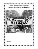 Reading Comprehension: Black History Time Capsules - The Civil Rights Movement