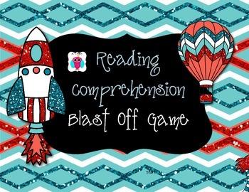 Reading Comprehension Blast Off Game