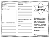 Reading Comprehension Book Review Trifolds