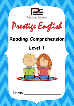 Reading Comprehension Book - Level 1