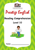 Reading Comprehension Book - Level 10
