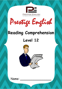 Reading Comprehension Book - Level 12