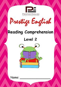 Reading Comprehension Book - Level 2