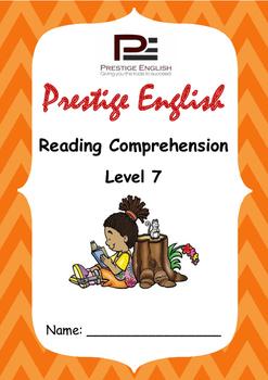 Reading Comprehension Book - Level 7
