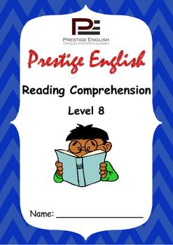 Reading Comprehension Book - Level 8
