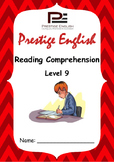 Reading Comprehension Book - Level 9