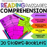 Reading Comprehension Passages - Booklets NO PREP