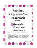 Reading Comprehension Bookmark
