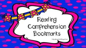 Reading Comprehension Bookmark Helper