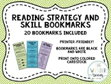 Reading Comprehension Bookmarks - Skills and Strategies -