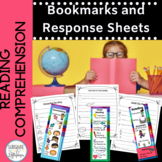 Reading Comprehension Bookmarks for Retelling, Summarizing and Close Reading
