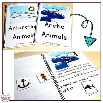 Reading Comprehension Books With Picture & Visual Choices January Set