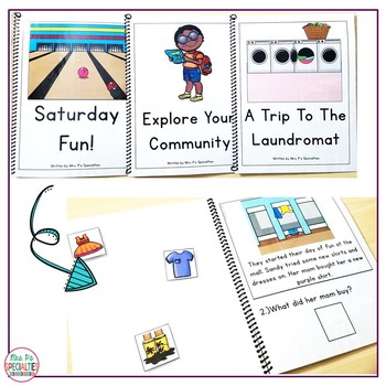 Reading Comprehension Books With Picture & Visual Choices March Set