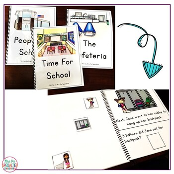 Reading Comprehension Books With Picture & Visual Choices {August Set}