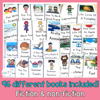 Reading Comprehension Books With Picture & Visual Choices BUNDLE