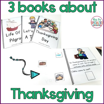 Reading Comprehension Books With Picture & Visual Choices November Set