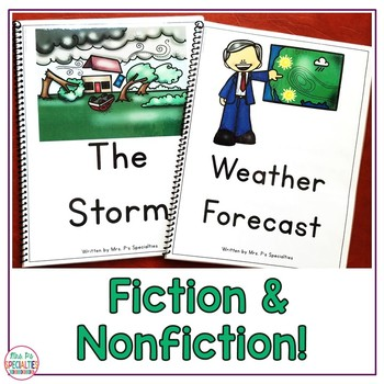 Reading Comprehension Books With Visual Choices {September Set}