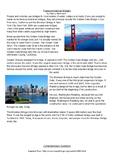Reading Comprehension - Bridges of the United States