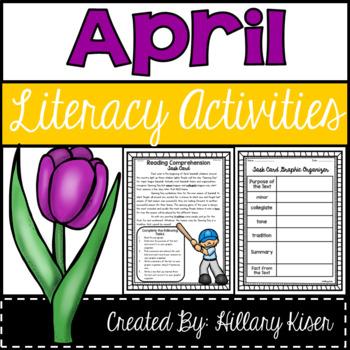 Literacy Activities (April)