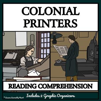 BUNDLE: Reading Comprehension - Colonial American Printers
