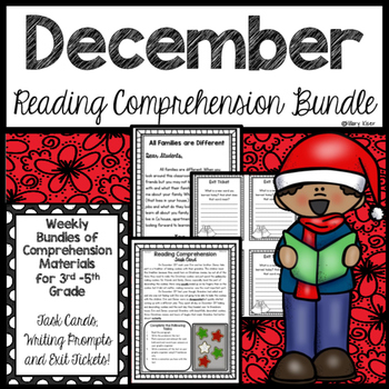 Reading Comprehension Bundle (December)