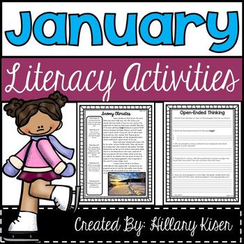 Literacy Activities (January)