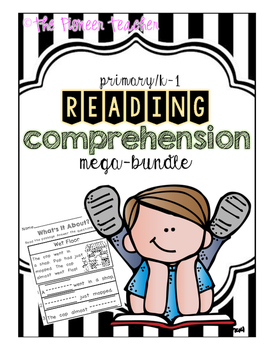 Reading Comprehension Bundle {Kindergarten/Primary}