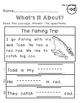 Reading Comprehension Bundle {Kindergarten/Primary}