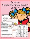 Reading Comprehension Bundle - Level A